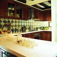 小户型厨房美式效果图片