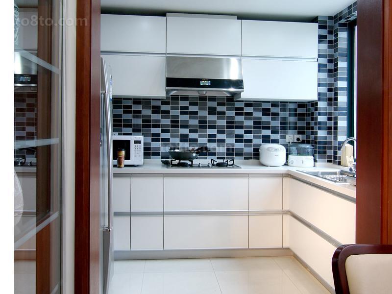 精选小户型厨房中式装修实景图片欣赏