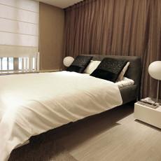 面积86平现代二居卧室装修设计效果图片大全