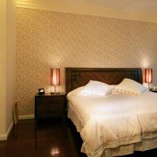 中式小户型卧室实景图片