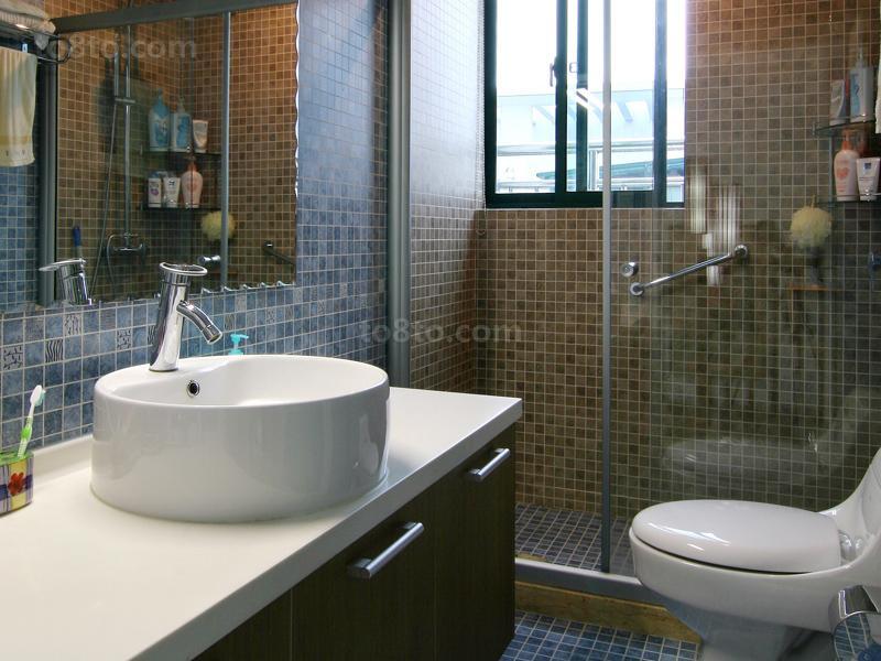 热门77平米中式小户型卫生间装饰图片大全