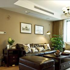 现代美式客厅装修效果图大全2013图片