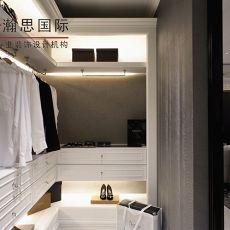 热门面积90平欧式三居衣帽间装修实景图片欣赏