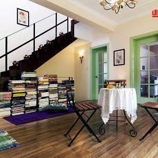 热门面积74平小户型书房美式欣赏图片大全