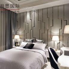 热门86平米二居卧室欧式装饰图