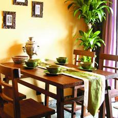 小户型餐厅东南亚装饰图