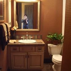 美式别墅卫生间装修效果图2013