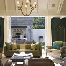 精美75平米美式小户型客厅装修设计效果图