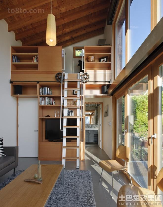 loft小户型室内装修效果图