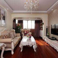 欧式风格小客厅装修图片