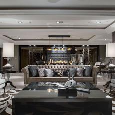 精美大小141平欧式四居客厅效果图片欣赏