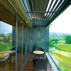 精美面积90平小户型阳台现代装修欣赏图片大全