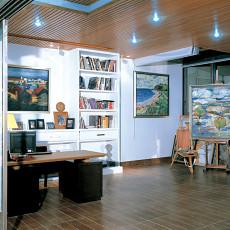 精选面积81平小户型书房欧式装修实景图片大全