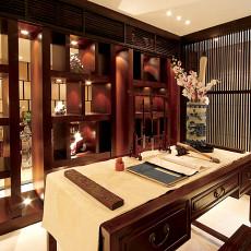 中式古典书房装修效果图欣赏