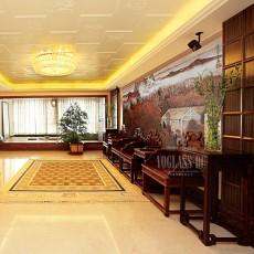 热门120平米中式别墅客厅装修效果图