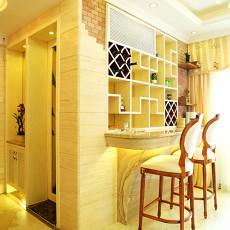 热门80平米二居休闲区欧式装饰图