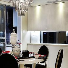精美面积80平小户型餐厅欧式装修效果图片