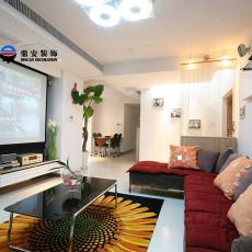 201883平米二居客厅现代装修图片