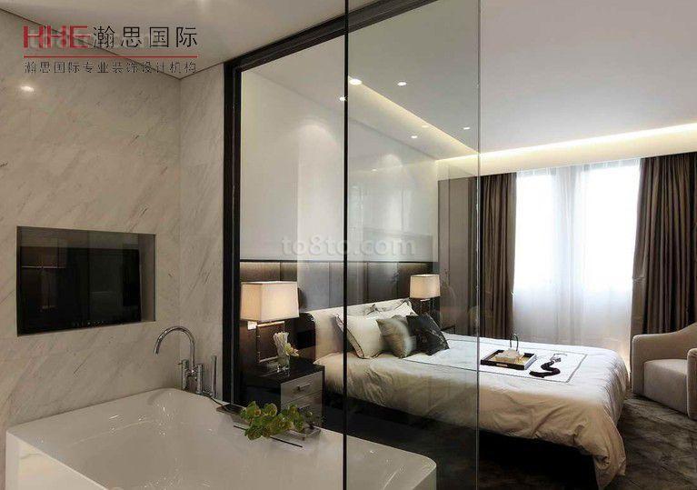 2018精选面积87平小户型卧室现代装饰图片大全