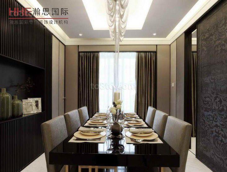 精美77平米现代小户型餐厅效果图片欣赏