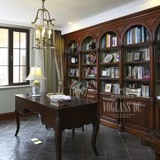 实木欧式书房装修效果图