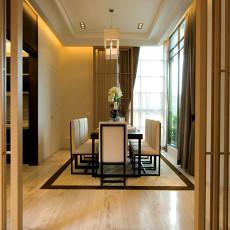 精选139平米中式别墅餐厅装修图片大全