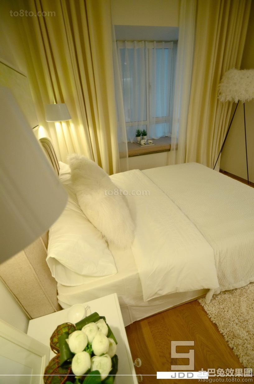 现代简约40平米小户型卧室装修