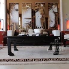 精选大小139平别墅客厅中式装修实景图片