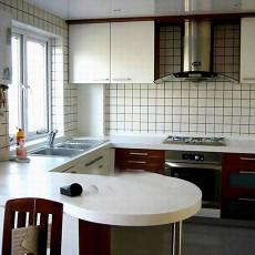 简单开放式厨房装修效果图
