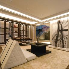 精选115平米中式别墅书房实景图片欣赏