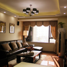 86平米现代小户型客厅效果图片
