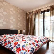现代家装卧室装修效果图