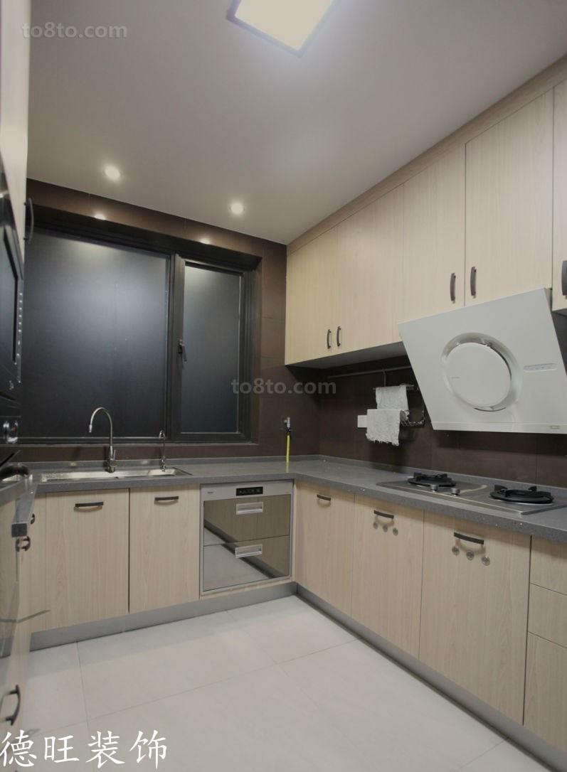 简约现代厨房装修效果图