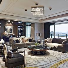 热门134平方四居客厅现代装修效果图