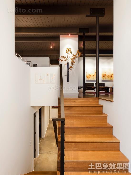 家庭别墅楼梯设计效果图