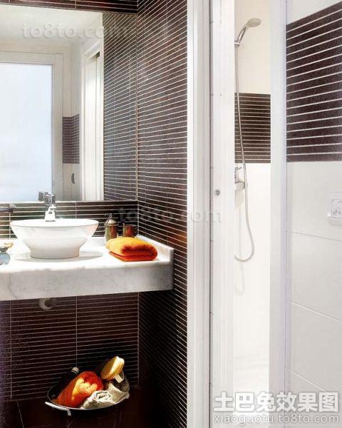 家庭装修卫生间瓷砖贴图
