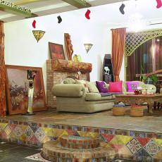 东南亚异国风情客厅装修效果图