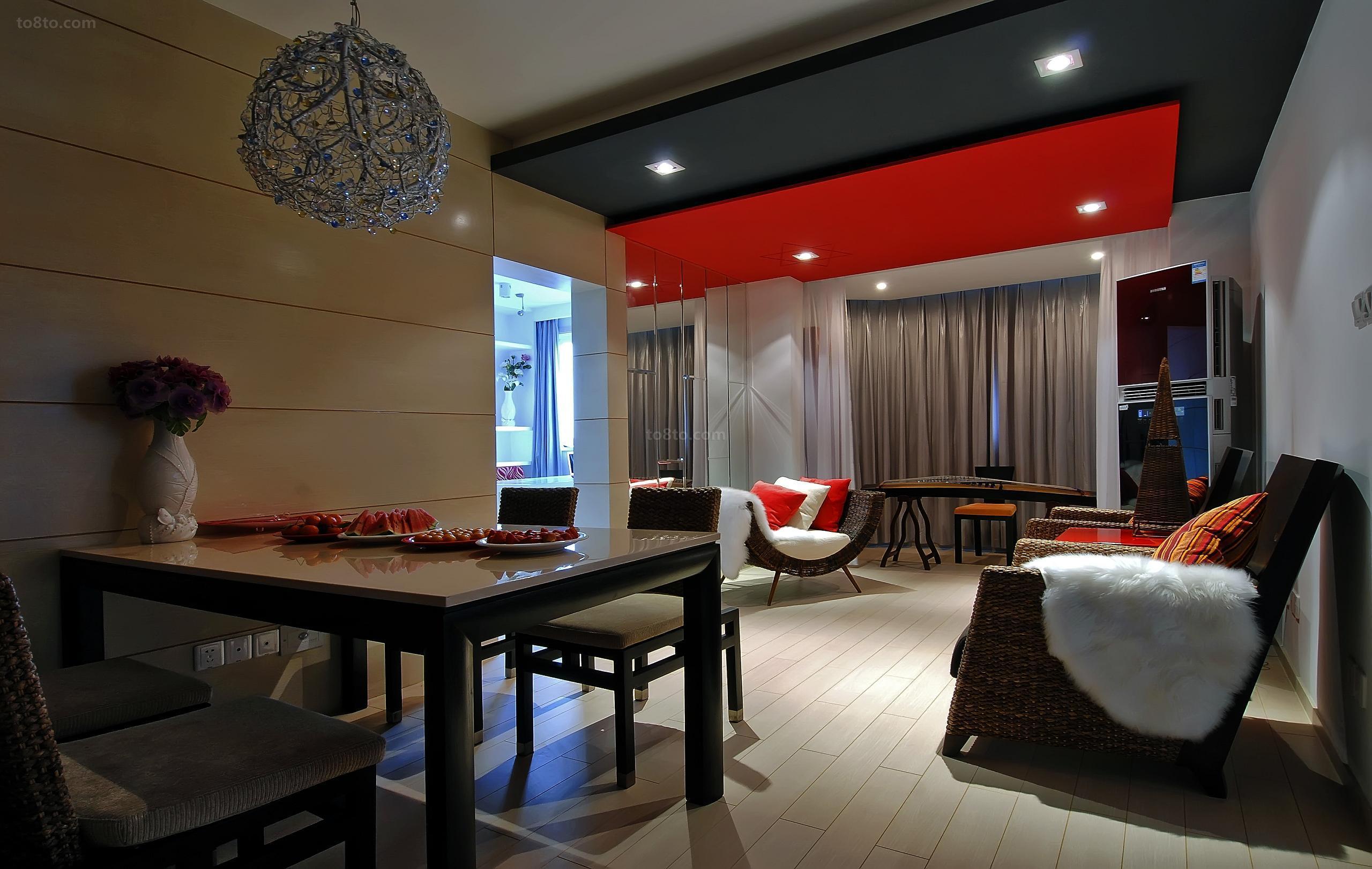 100平米户型家居室内装修设计