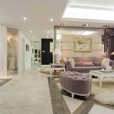 精选面积85平小户型客厅欧式装饰图片大全