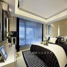 现代风格黑白经典卧室装修效果图