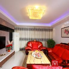 85平米二居客厅现代装修效果图片
