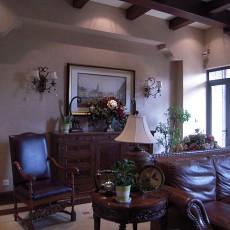 美式风格客厅装修效果图大全图片