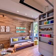 小户型客厅壁柜效果图