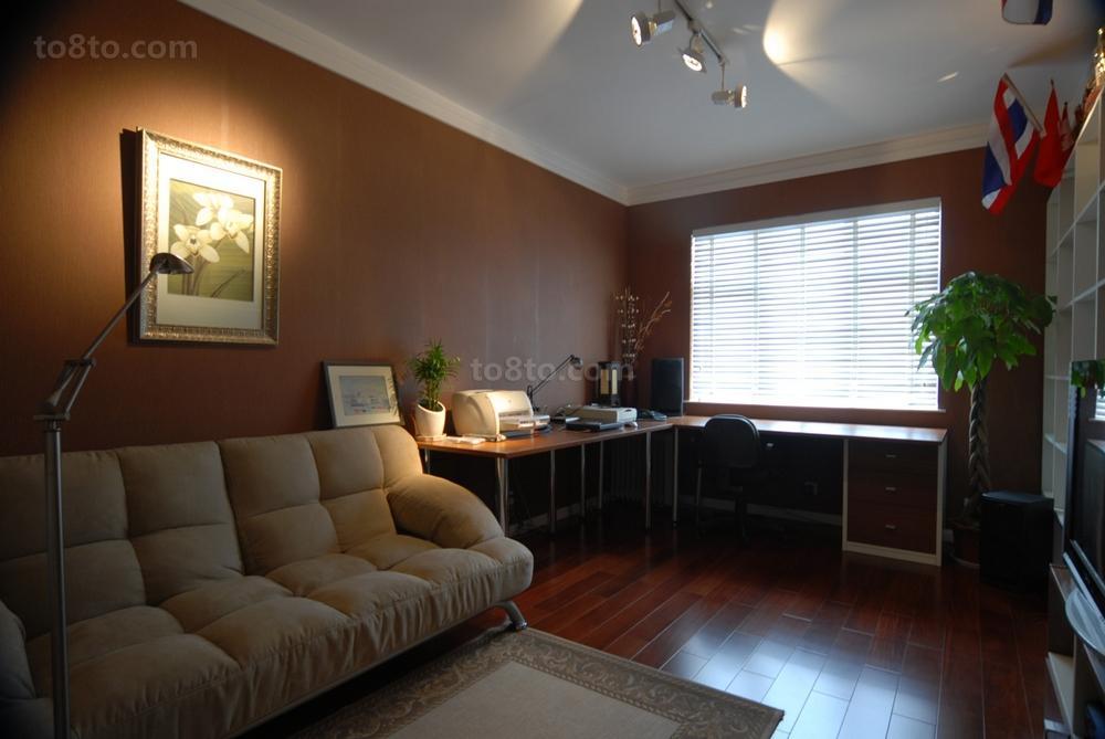 小户型客厅木地板装修效果图大全