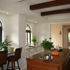 美式风格开放式厨房装修效果图大全