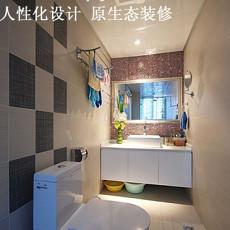 现代风格婚房卫生间装修效果图欣赏