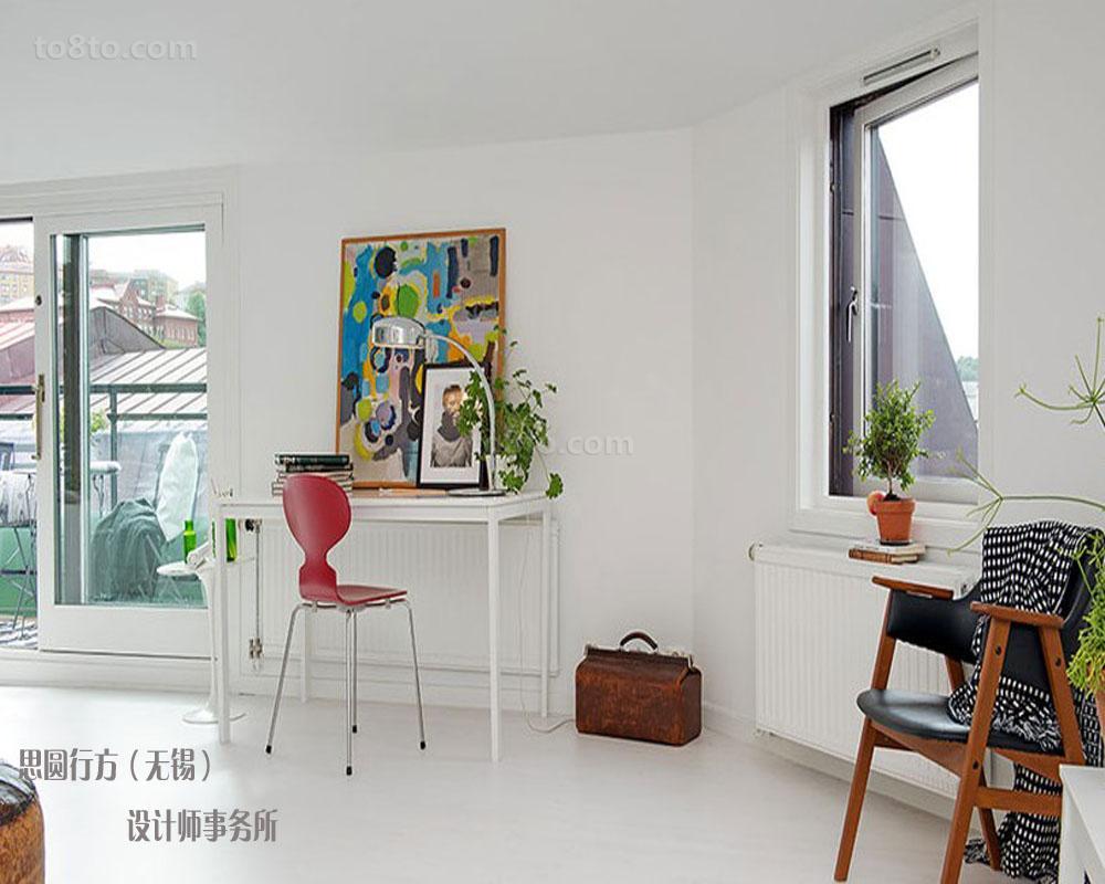 北欧风格阁楼客厅装修效果图