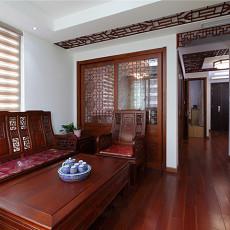 热门小户型客厅中式装修效果图片
