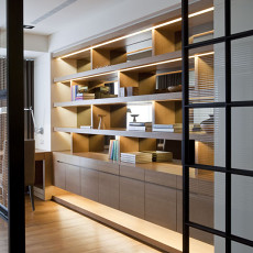 现代简约风格书房装修效果图大全