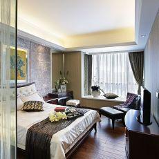 精选面积107平欧式三居卧室实景图片大全